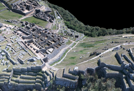 Resource: Machu Picchu : animacja modelu 3D